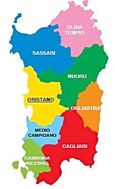 Cartina Politica Sardegna.Cnsas Soccorso Nazionale Alpino E Speleologico